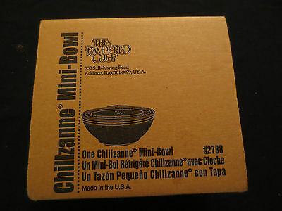 The Pampered Chef Chillzanne -Bowl