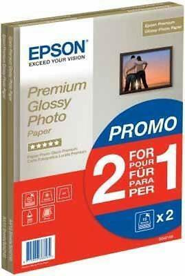 Epson S042169 Premium Glossy Photo Paper A4 - Promotion Pack