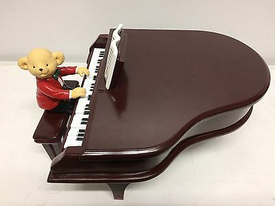 Mr. Christmas TEDDY TAKES REQUESTS Talking & Piano Playing Bear All Holidays