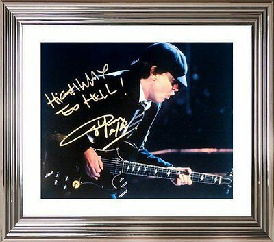 Ultra Cool - Angus Young - Ac/dc - Original Hand Signed Autograph