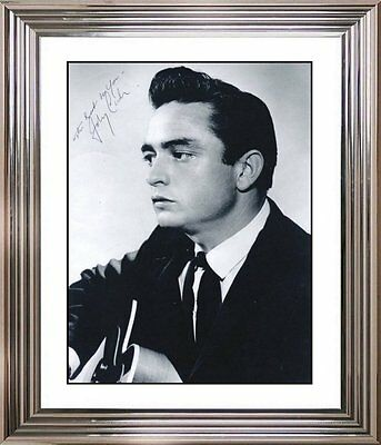 Ultra Cool - Johnny Cash - Music Legend - Original Hand Signed Autograph