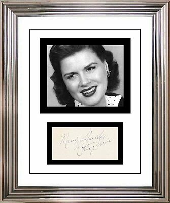 Ultra Cool - Patsy Cline - Music Legend - Original Hand Signed Autograph