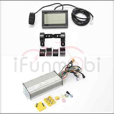 Hot Sale 36V/48V 1000W 26A Brushless DC Sine Wave Controller + LCD Control Panel