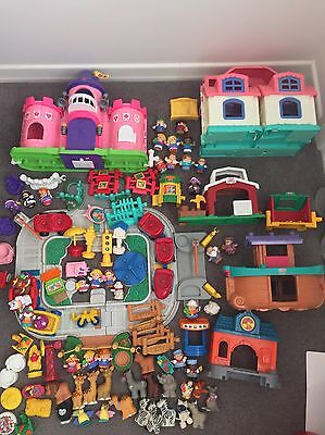 "Huge Collection Fisher Price ""Little People"" :)"