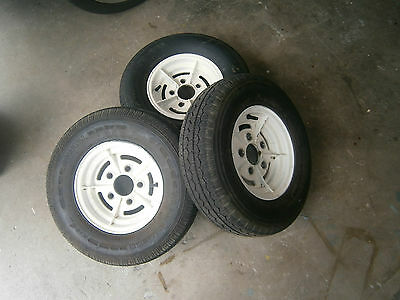 Boat Trailer Wheels, Fishing, Tinny,