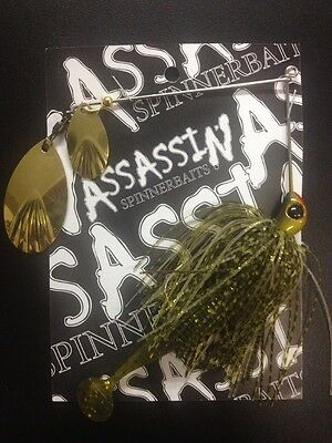 Assassin Spinnerbaits murray cod and yellowbelly 1 X 5/8 OZ #71