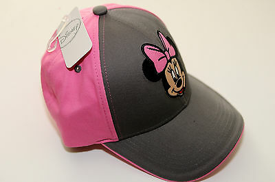 MINNIE MOUSE ADVENTURE adjustable CAP HAT One Size 4-10 years disney GIRLS