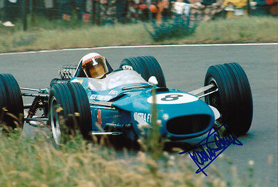 Jackie Stewart - F1 Racing Legend autograph - Signed 8X12 Inches F1 Photo