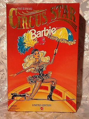 Circus Star Barbie Fao Schwarz Limited Edition 1994 Never Out Of Box Nrfb