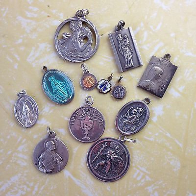 Vintage Religious medals