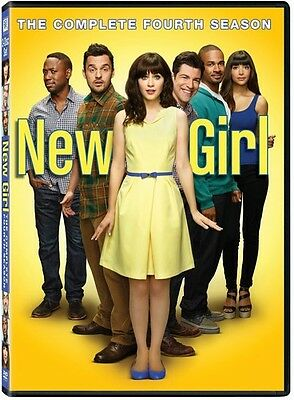New Girl: The Complete Fourth Season - 3 DISC SET (2015, DVD New)