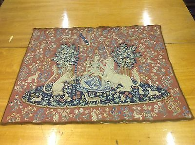 Lion And Unicorn Tapestry