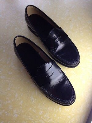 Muji Black Loafers - Women Size 38 (25cm)