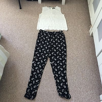 New With Tags River Island Top And Trousers Aged 9