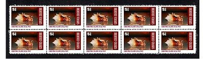 Hermit Crab Strip Of 10 Christms Island Mint Stamps #8