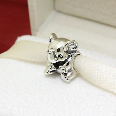 *  Authentic Pandora Lucky Elephant 791902 Safari Zoo Africa Charm