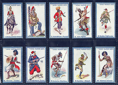 Thomson ROVER WARRIOR CARDS (Sectional Back) - Quality 1929 SET