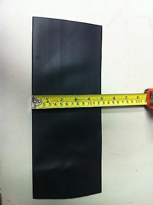 """3"""" ID ThermOsleeve BLACK Polyolefin 2:1 Heat Shrink tubing - 1' section"""