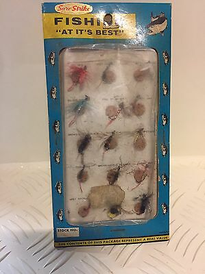 Sure Strike vintage fly Fishing Lures Still In Packet