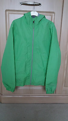 Zara Kids Girls Boys Water Shower Proof Coat Jacket Apple Lime Green Age 11-12