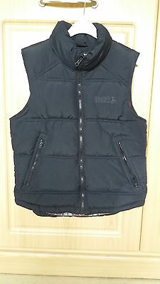 Boys Girls Kids Navy Padded Quilted Gilet H&M Age 9-11 Y