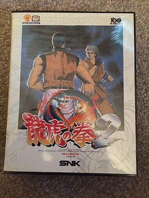 Art Of Fighting 2 For The Neo Geo Aes Boxed Complete