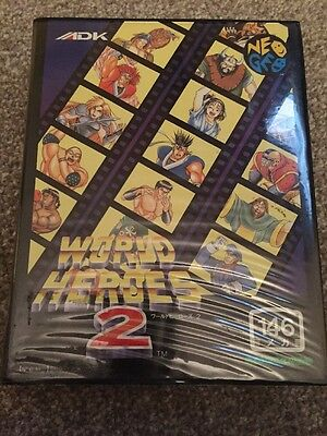 World Heroes 2 For The Neo Geo Aes Boxed Complete