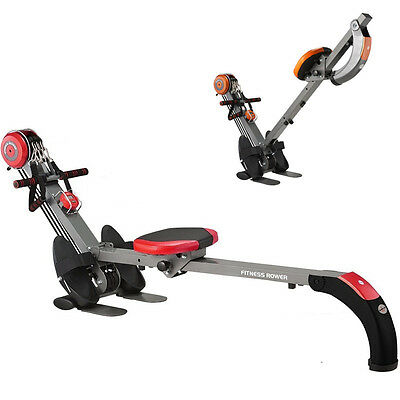 Folding Rower Gym Cardio Fitness Body Sculpture Exercise Workout Rowing machine