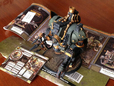 Warmachine Galleon - Mercenary Colossal Warjack - Magnetized and Painted