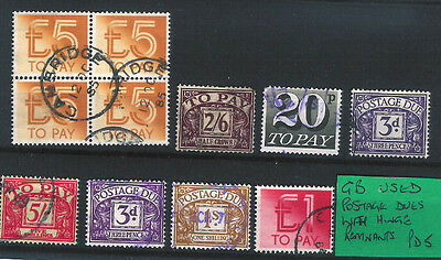G.B.Postage Dues..Used.......PD.5