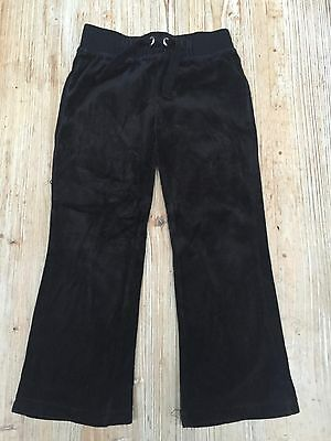 Girls black comfty trousers by 'miss E-vie' aged 5-6 years. Good condition.