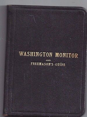 Masonic Monitor, Washington State, 1917, 7th Ed.,  Lot 53