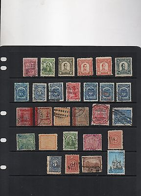 S. America stamps, 4 countries, CLEARANCE