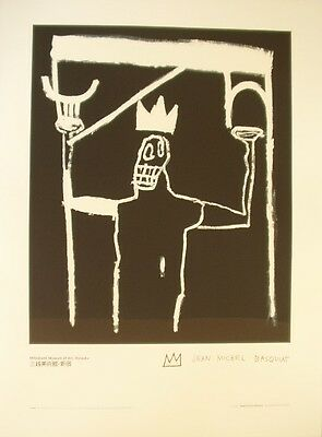 Authorized Lithograph After Jean-Michel Basquiat Untitled