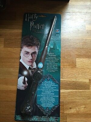 Harry Potter & The OOTP Electronic Interactive Wand Popcorn NEW on Card Free P&P