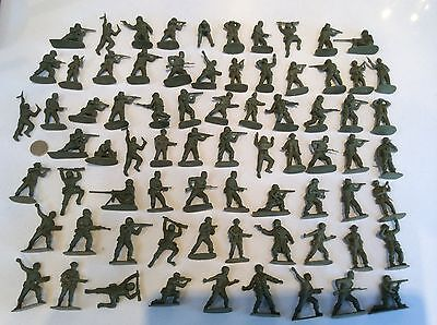 Quality British Royal Marines Toy Plastic 1/32 Soldiers X 76