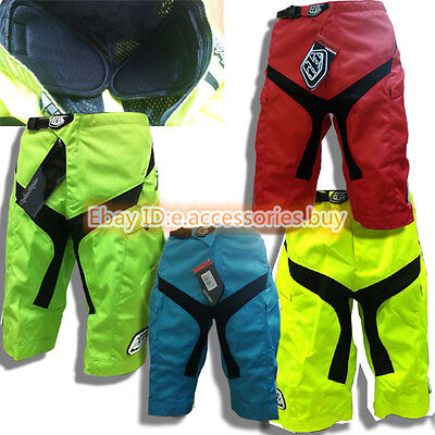 New Men's Troy Lee Designs TLD Moto/MTB Short with pads (multi colors)