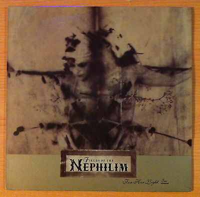 "FIELDS OF THE NEPHILIM  ""For Her Light Two"" -  Vinyl  12"" -  BEG 244 T - 1990 UK"