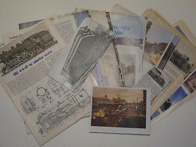 Central New Jersey Railroad - Collection of Magazine Cuttings