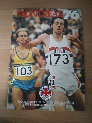 Olympic Games Booklet - Montreal 76