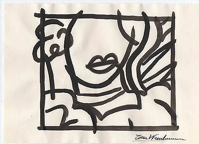 Tom Wesselmann  ......drawing On Paper
