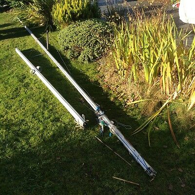 Fireball Sailing dinghy mast and boom.  Including rigging 505 RS Merlin etc..?