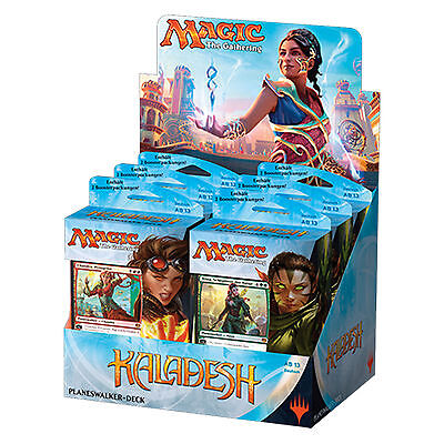 Magic The Gathering - Kaladesh Planeswalker Deck Display (6 Decks) - DE