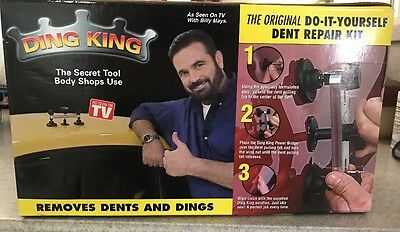 Ding King As Seen On �� Unopened Box Showing Wear