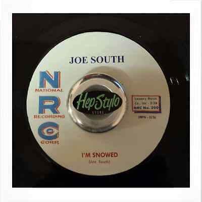 Joe South 45 Re- I'm Snowed / Chills - Fantastic Nrc Double Sider  ♪♪Listen♪♪