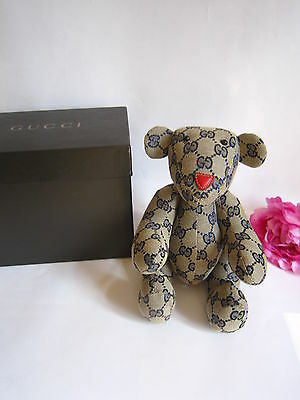 Gucci bear. Mint in box. 100% authentic. Fabulous.