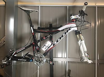Look 996 Carbon Full Suspension Xc Mtb Rock Shox Monarch Size L Frame Only