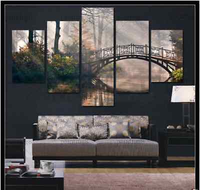 HUGE MODERN ABSTRACT WALL DECOR ART OIL PAINTING ON CANVAS( no frame)