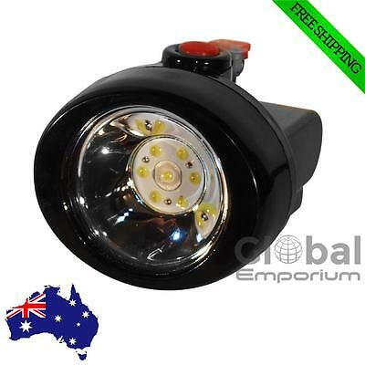 Cordless Power Dual LED Light Miners Head Lamp with Rechargeable Battery