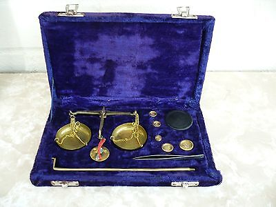 Vintage Boxed Chemical Weighing Scales